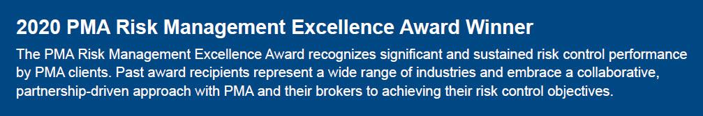 Browns Risk Award blue block