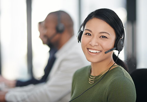 call-center-female-agent-smiling-500x349