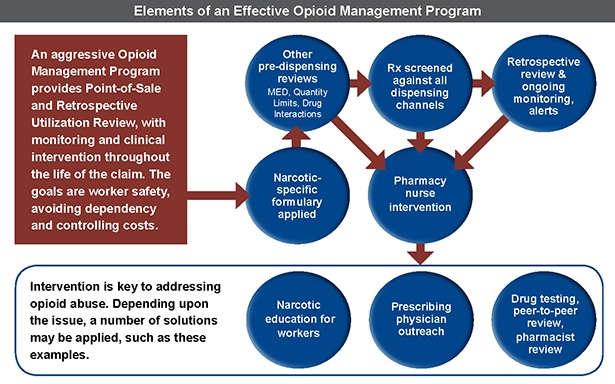 Elements of an     effective opioid management program